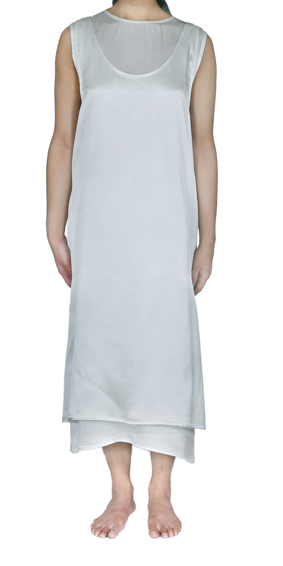 HINTY MINT SLIP DRESS