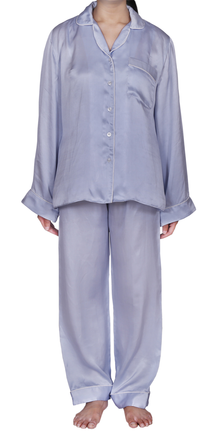 WINTER SKY SILK PYJAMAS